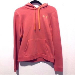 Under Armour pull over Semi fitted hoodie jacket